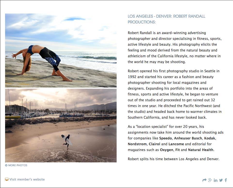 Spotlight on San Diego Sports Photographer Robert Randall Productions